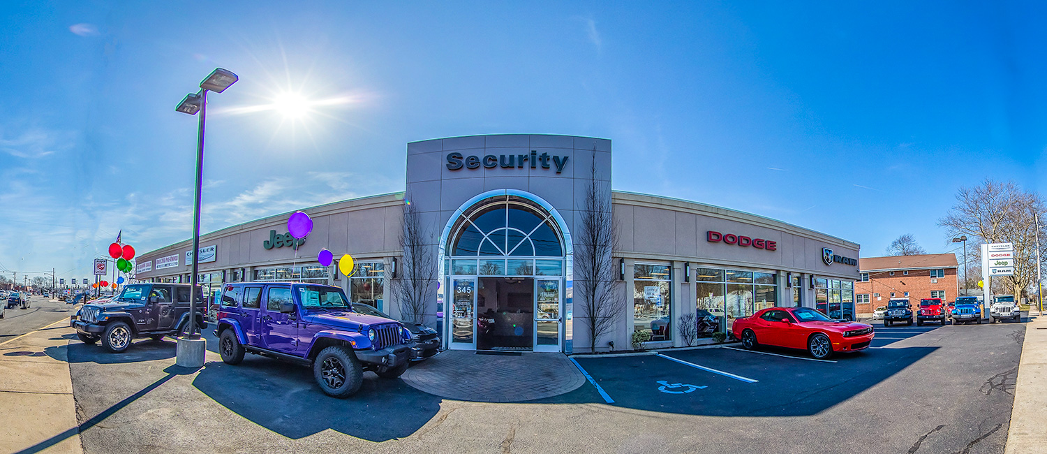 security-dode-chrysler-jeep Commercial photography and 3D interactive virtual tour